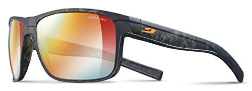 Julbo Renegade Sonnenbrille Herren, Camo Grün/Orange