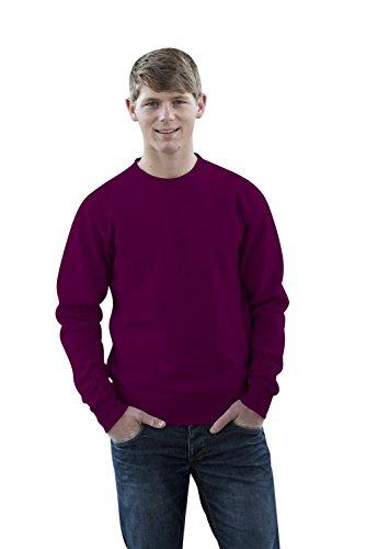 JH030 Sweater Sweatshirt Sweat Sweater Pullover Plum