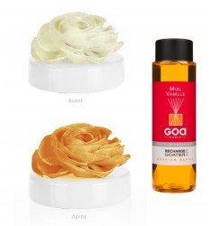 Diffuseur de parfum GOA Coffret fleur de Goatier Miel Vanille -