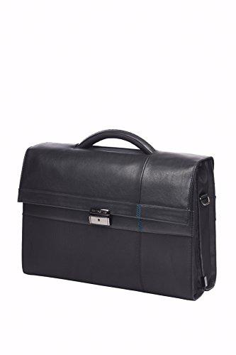 "SAMSONITE Formalite - Briefcase 2 Gussets 15.6"" Ventiquattrore, 43 cm, 13.5 liters, Nero (Black)"