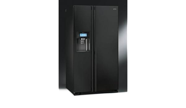 Amica Kühlschrank Wasser : Smeg ss55pnl3 side by side kühl gefrier kombination schwarz: amazon