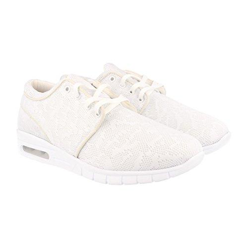 Chaussures de sport, Chaussures basses Baskets à lacets, unisexe Blanc - Blanc