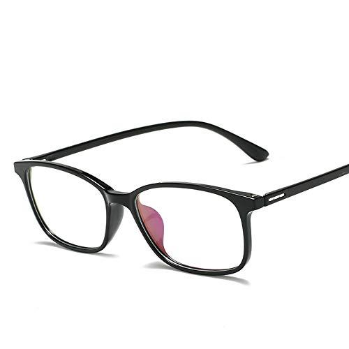 XCYQ Brillengestell Frauen Square Brillengestell Männer Brillengestell Vintage Eyewear Spectacle Frame, A
