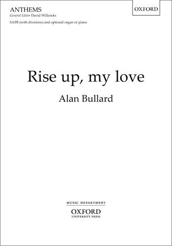 Rise up, my love: Vocal score