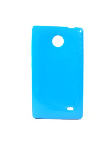 iCandy™ Colourful Thin Soft TPU Back Cover For Nokia X / X+ - Turquoise  available at amazon for Rs.119