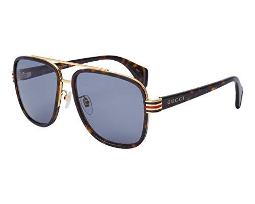 Gucci GG0448S Sonnenbrille Mann 004-havana-havana-grey