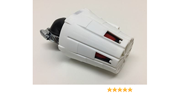 35mm Tuning Sport Luftfilter Für Yamaha Aerox Mbk Nitro Weiss Rot Auto