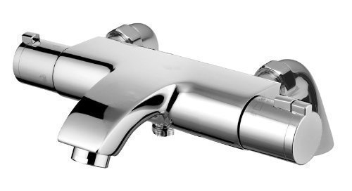 Deck Or Wall Mounted Thermostatic Bath Mixer Tap (Eco Active) (Deck Mounted)