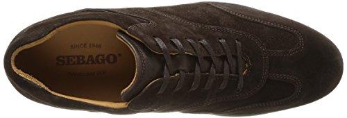 Sebago Teague T Toe, Chaussures de ville homme Marron (Dk Brown Suede)