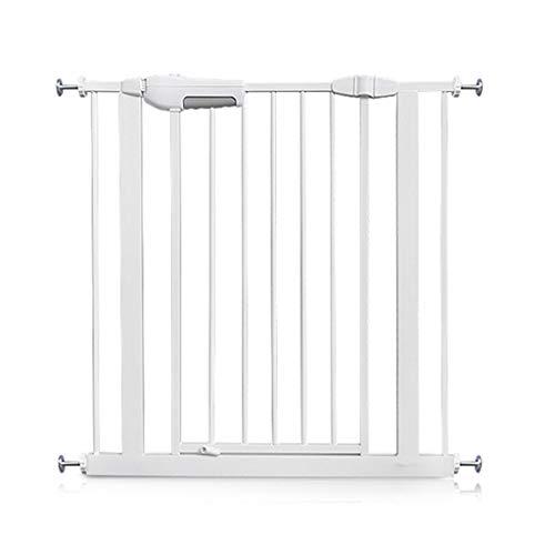 Sicherheitstore Pet Gate Wall Protector Extra Breite Baby Tür für Türen Treppe Spielen Yard Einfache Schritt Gehen Durch Tor, 60-194 cm (größe: 105-114 cm)