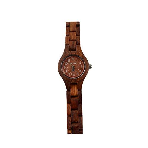 BS ® Women 's Fashion Lightweight Wooden Wristwatches