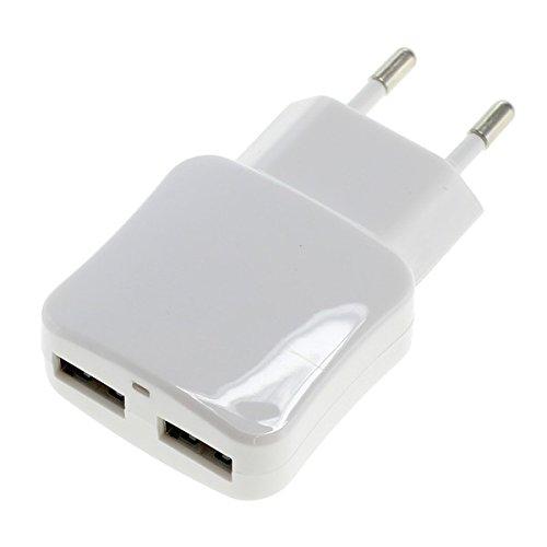 Id-ipod (Rydges Dual Pro Series Netzteil Schnellladegerät 5V 2100mA - Ultra Slim - USB Adapter mit Auto-ID Funktion für alle Apple iPhone / iWatch / iPad / iPod -- Kompatibilitätsliste befindet sich in der Beschreibung)