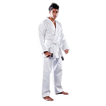 Blitz Unisex's Cotton Student Karate Suit, White, 3-160 cm