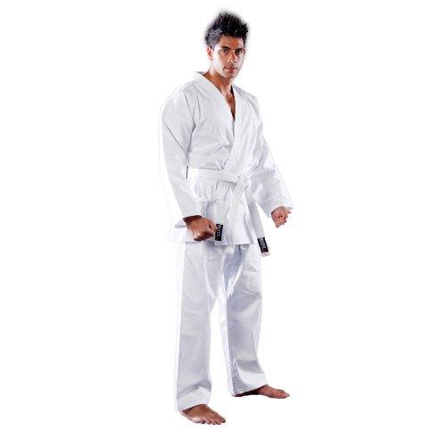 Blitz Sport Kimono de Karaté adulte en coton Blanc