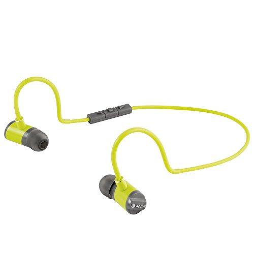 Auriculares con microfono amarillo Inalámbrico
