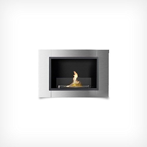 Stove Fireplace Wall fireplace table Ethanol Fireplace Bio-Ethanol Fireplace Gel Burn Camera Wandkamin - 1 Brenner - EDS - 78 cm