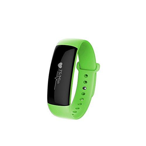 LuckyNV Bluetooth HR Smartband Herzfrequenzmesser Smart Armband Sport Wristband Gr¨¹n