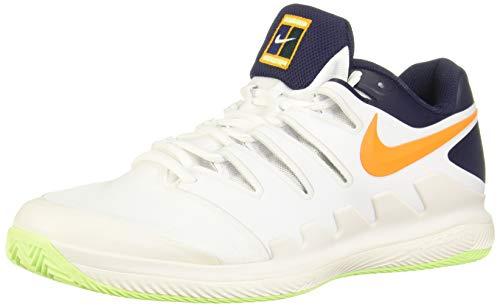 Nike Air Zoom Vapor X Clay, Scarpe da Ginnastica Basse Uomo, Multicolore (Phantom/Orange Peel/Blackened Blue/White 001), 42.5 EU