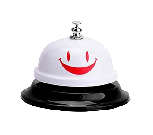 Preisvergleich Produktbild [Lächeln] White Hotel Hotelrezeption Restaurant Bar Anruf-Bell