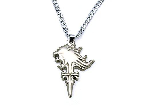 sy VIII Halskette mit Sleeping Lion Heart Anhänger ()