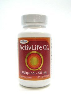 Activlife Q10 Ubiquinol 50mg Enzymatic Therapy Inc. 60