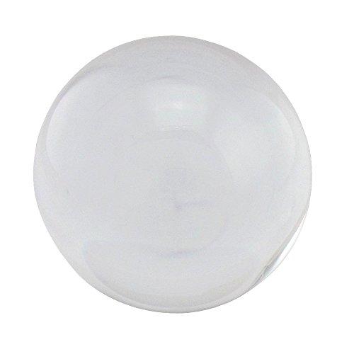 flevado Boule en verre décorative Transparent 100 mm Ø transparent