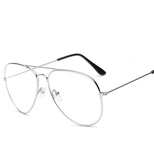YUHANGH Vintage Retro Classic Round Clear Übergroßen Brille Rahmen Frauen Männer Brille Metallrahmen
