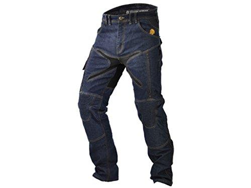 Trilobite Pantalones vaqueros de motocicleta para hombre