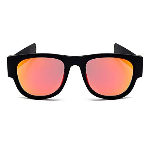 Yestter Reiten Im Freien Falten Tragbarer Faltring Polarisierte Sonnenbrille Fischen Fahren Golf Umrandeten Rahmen Polarisierte Fahren Sonnenbrille Polarisierte Gunmetal Laufen Radfahren