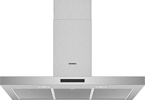 Siemens LC96BBM50 Dunstabzugshaube / Wandhaube / 90 cm / Metall-Fettfilter / Elektronische Steuerung / Edelstahl