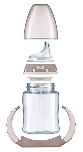 NUK 10215220 Disney Winnie First Choice Trinklernflasche aus PP 150ml, mit Soft-Trinktülle aus Silikon, BPA frei, ab 6 Monate, grün - 4