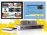 Auvisio Digitaler Satelliten-Receiver PX-1131 (HDMI, USB-Recorder) silber