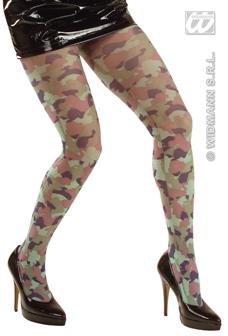 Militär-Strumpfhose für Damen