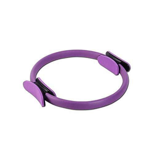 WooyMoo Anneau de Pilates, Magic Fitness Circle Resistance Exercice Fitness Ring pour Toning Cuisses, Abs et Jambes Améliorer la Force de Puissance de Base