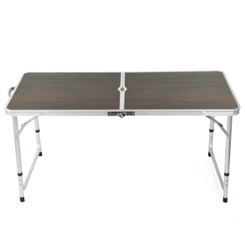 beyondfashion-4ft-aluminum-folding-table-camping-foldable-outdoor-picnic-portable-table-red