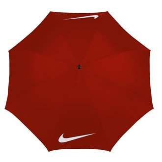 Nike WINDPROOF - Parapluie de golf - Rouge/Blanc