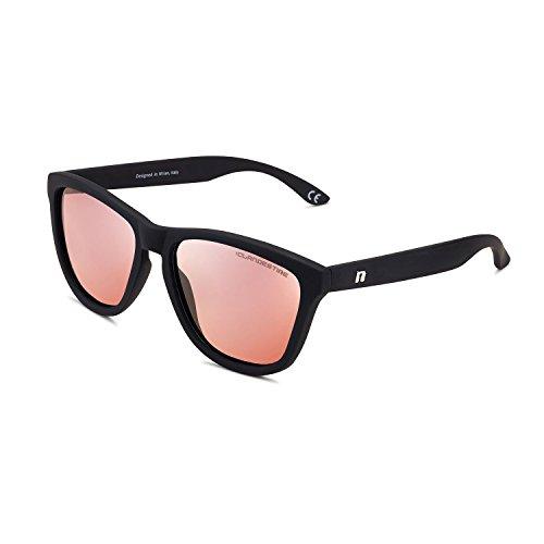 CLANDESTINE Model Matte Black Rose - Gafas de sol Polarizadas Hombre y Mujer