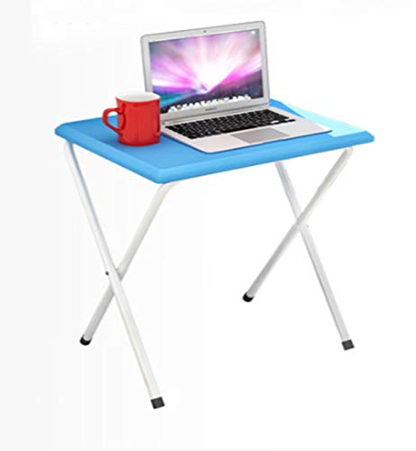 Esszimmer Set Küche Warenkorb (Klapptisch Tragbare Einfache Picknick Im Freien Lesen Esszimmer Einfache Mode Boden Einfach Zu Installieren,blue)