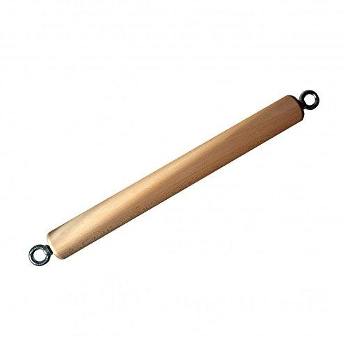 target10a Roller Bar 65mm - Drehende Klimmzugstange aus Holz fürs Klettertraining -