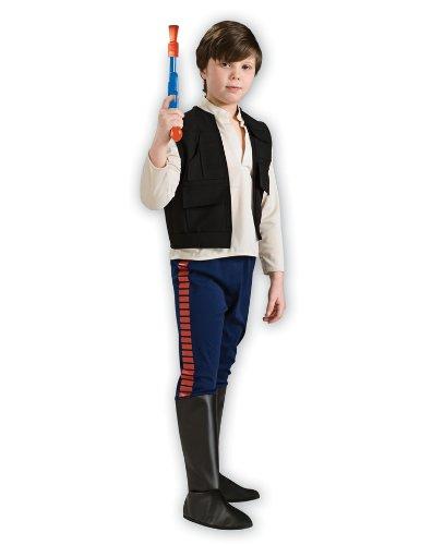 Deluxe Han Solo Kinder Kostüm Star Wars Kinderkostüm Größe L 8-10 Jahre (Deluxe Han Solo Kostüm)