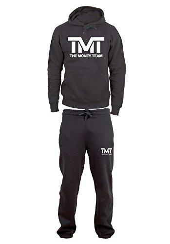 The Money Team Trainingsanzug / Jogginganzug, Baumwolle Gr. XL, schwarz
