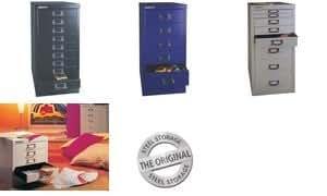 BISLEY Armoire à tiroirs MultiDrawer A4, 6 tiroirs, blanc