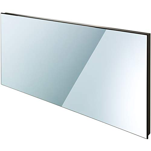 TecTake Spiegel Infrarotheizung Spiegelheizung ESG Glas Elektroheizung Infrarot Heizkörper Heizung inkl. Wandhalterung - diverse Modelle - (900 W | 122x62x4 cm | Nr. 402467)