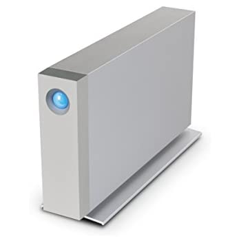 LaCie d2 4TB Dual Thunderbolt 2 + USB 3.0 Professional Desktop 3.5 inch External Hard Drive for PC and Mac