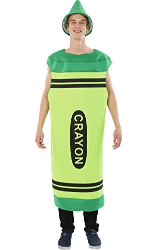 - Green Crayola Crayon Kostüm
