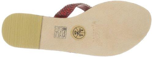 Unze Evening Sandals, Sandali donna Rosso (Rot (L18578W))