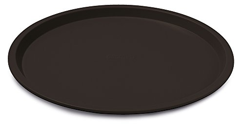 Guardini - Bandeja para pizza (antiadherente, 27,6 x 1,5 cm), color negro