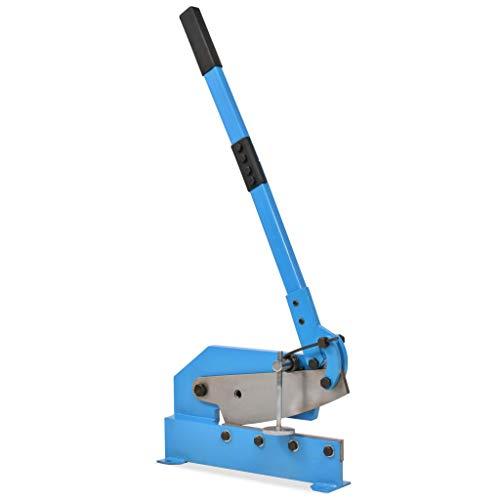 Tidyard Handhebelschere 300mm, Hebelblechschere, Metallschere, Gehärteter Stahl,Blau