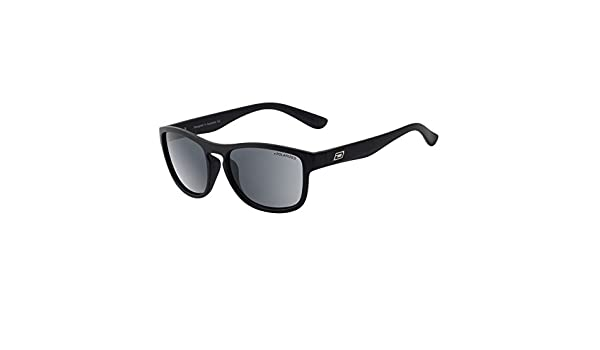 DIRTY DOG WOLF Mens//Womens POLARISED Sunglasses BLACK GREEN 53512