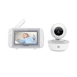 "Motorola MBP846CONNECT Video Baby Monitor with 4.3"" Handheld Parent Unit and Wi-Fi Hubble Connected App for Smartphones & Tablets   3"